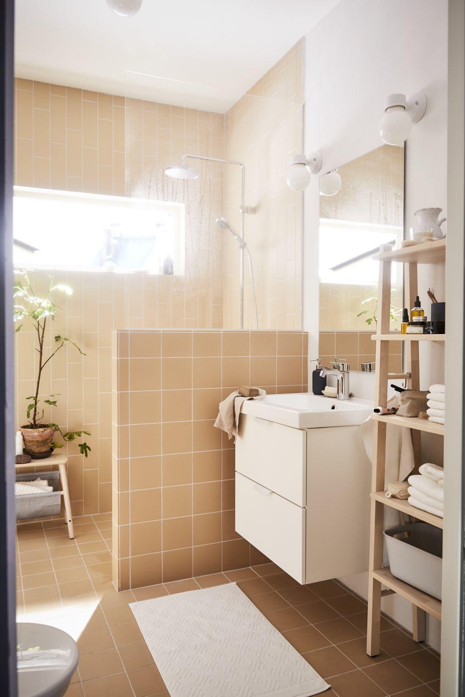 Baños monocromáticos | Catálogo de IKEA 2019: 10 tendencias...