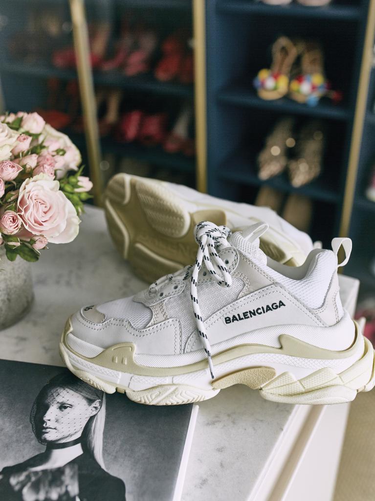 El modelo Triple S de Balenciaga son las zapatillas favoritas de My...