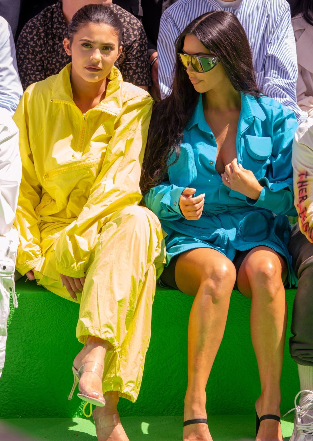 Kim Kardashian y Kylie Jenner en la Paris Fashion Week