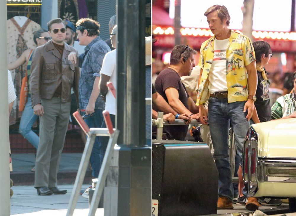Leonardo DiCaprio y Brad Pitt han sido totalmente caracterizados para...