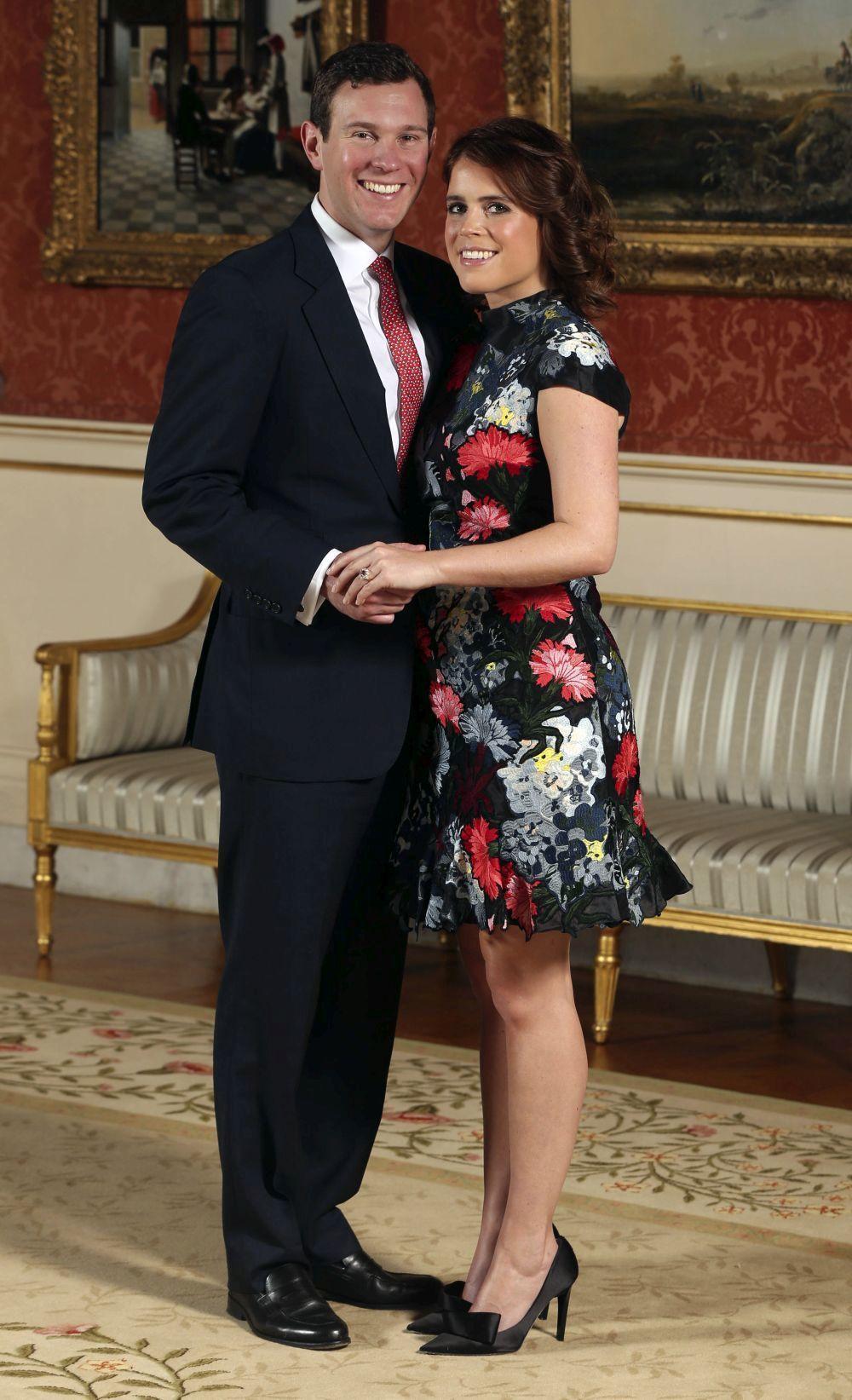 La princesa Eugenia y su prometido, Jack Brooksbank.
