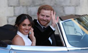 Meghan Markle con el impresionante anillo que perteneció a Lady Di.