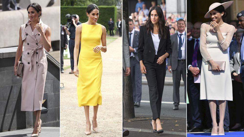 Los looks de la duquesa de Sussex, de mejor a peor