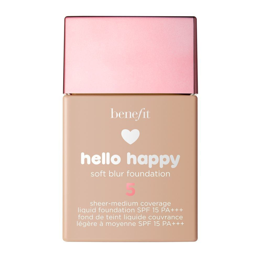 Hello Happy Soft Blur Sheer-Medium Coverage Liquid Foundation SPF 15...