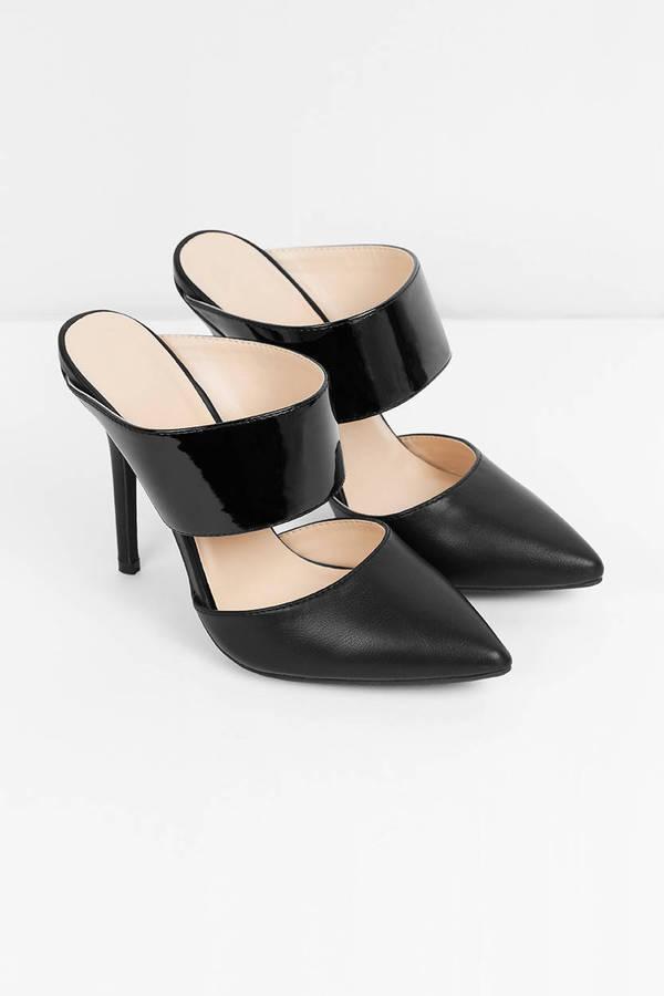 Mule estilo stilettos, de Alexis disponibles en Tobi (48 euros).