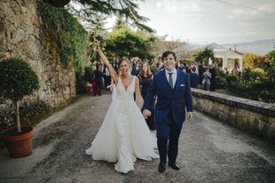 Blanca y Andrés son los protagonistas de una boda celebrada en un...