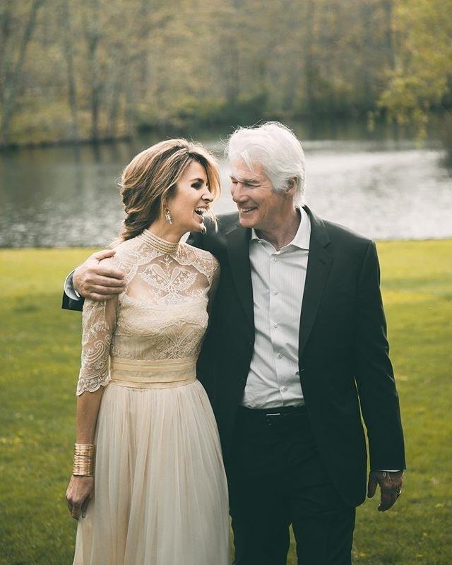 Se casaron en el rancho que el actor tiene en Nueva York siguiendo el...
