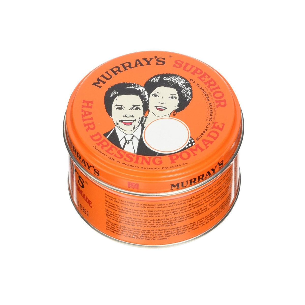 Pomada Murray's Hair Dressing (9,88 euros), disponible en Amazon