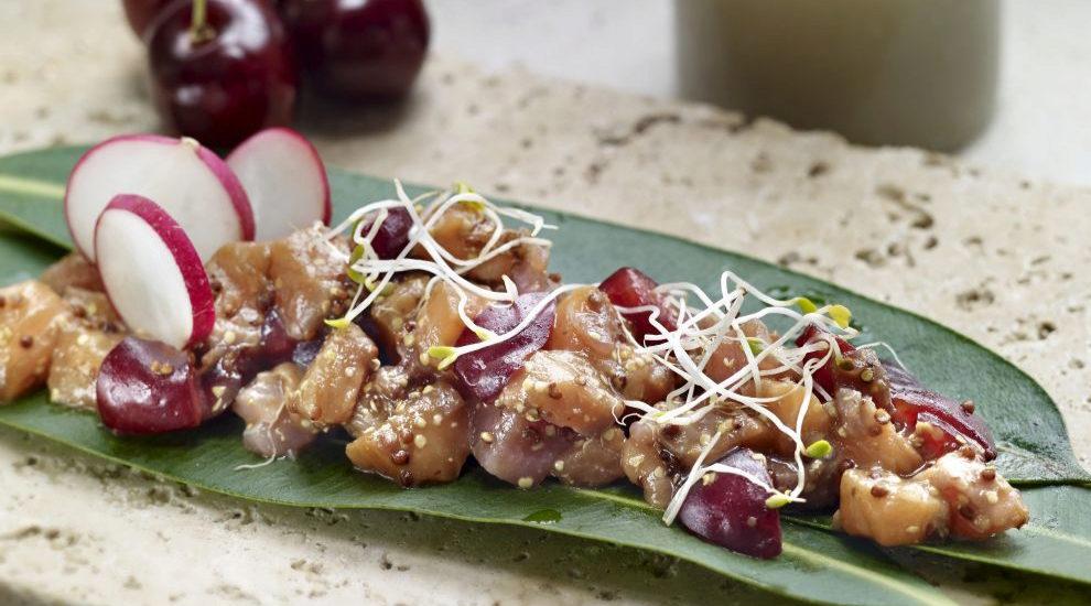 Poke con salmón y verduritas, la sugerencia de plato combinado para...