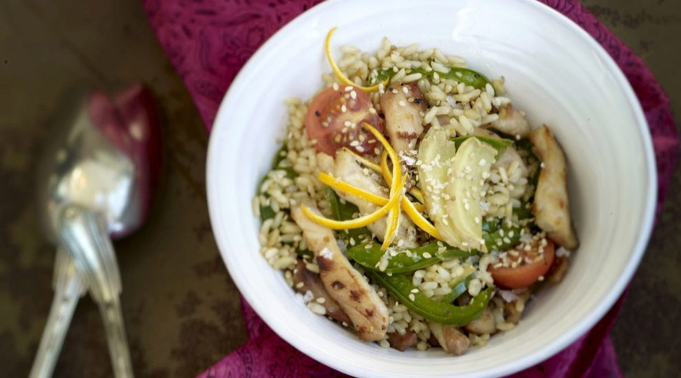 Wok de arroz integral con ternera y verduras, otra de las ideas de la...