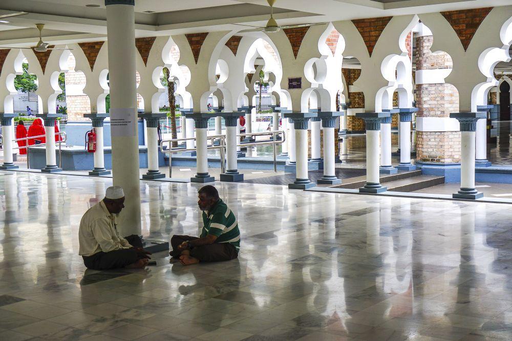 La mezquita Masjid Jamek.