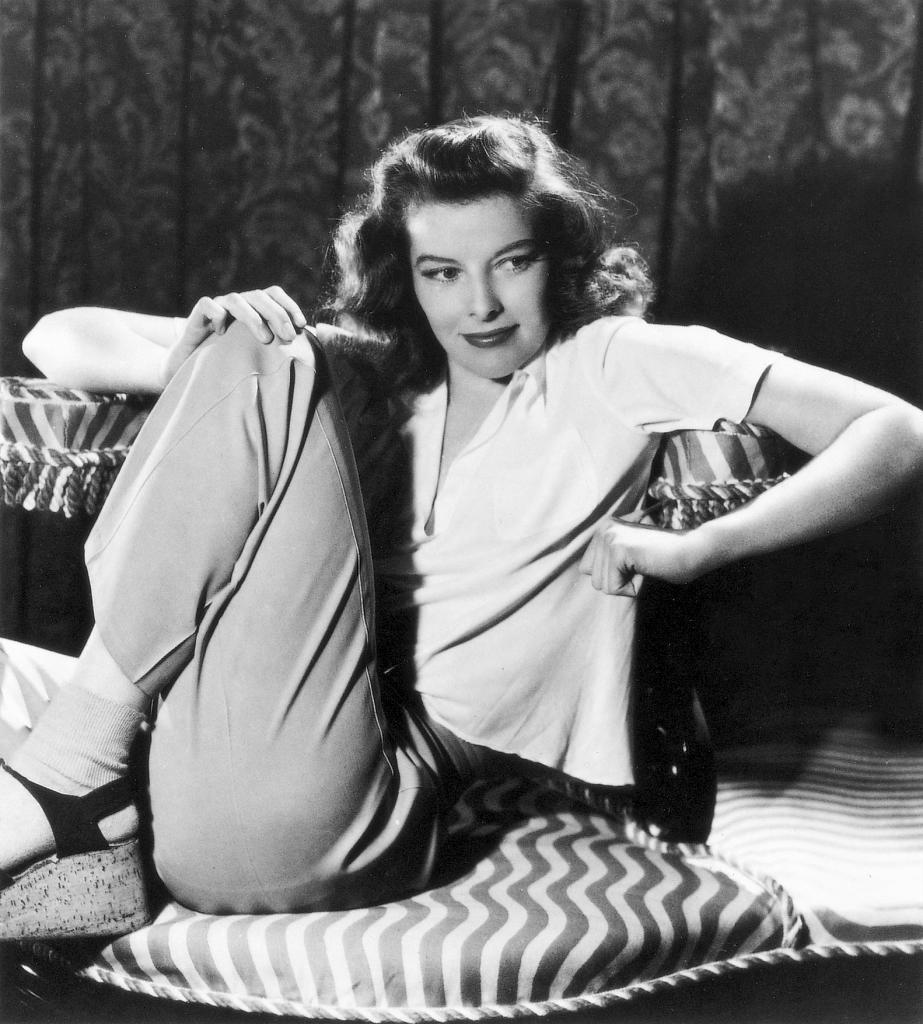 Katharine Hepburn, icono de estilo de Laura.
