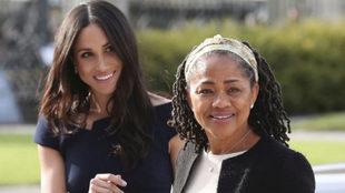 Meghan Markle y su madre, Doria Ragland