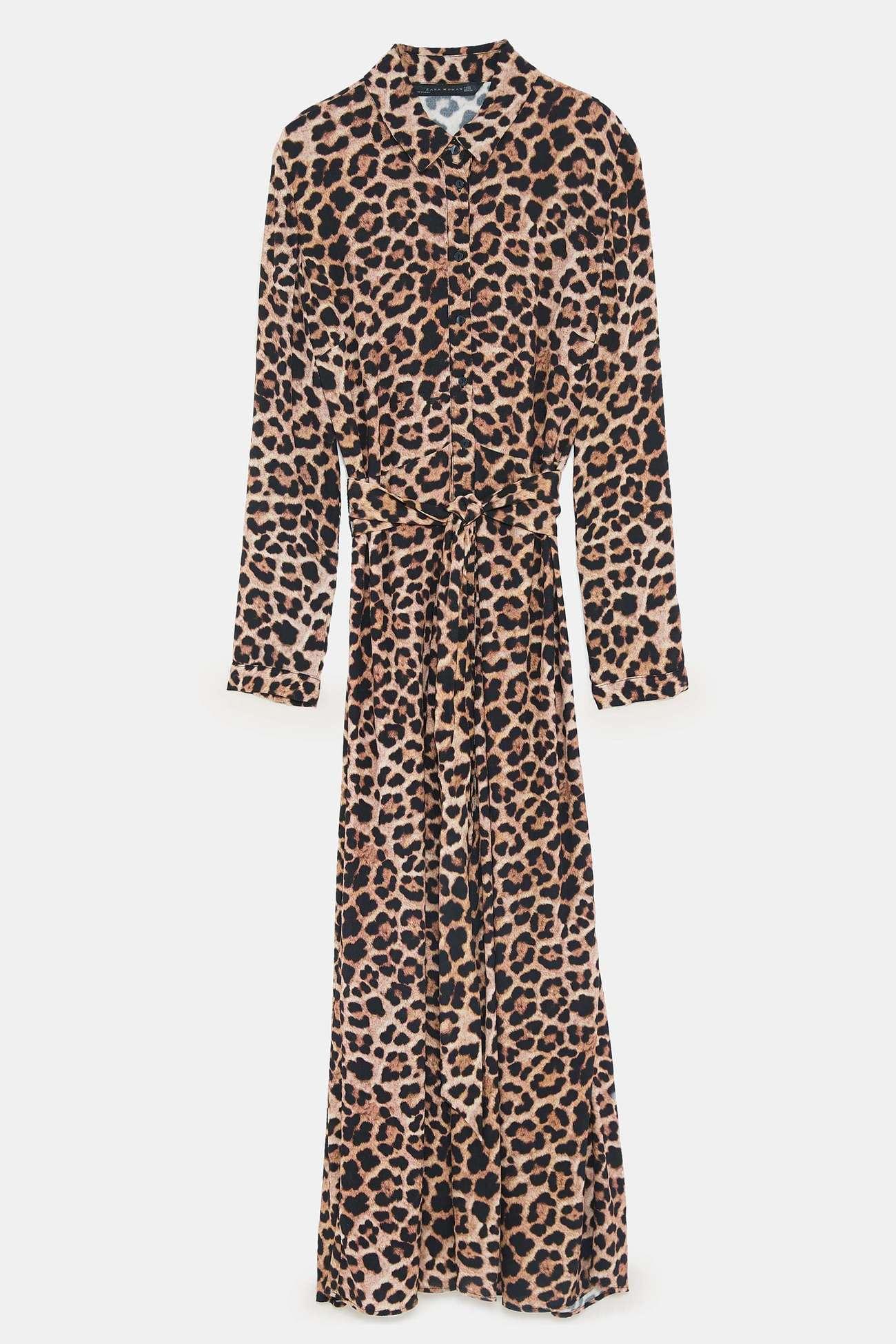 7a540269861f Vestido con print de leopardo   Nueva temporada: las 5...