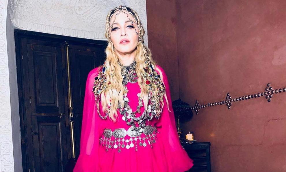 Madonna en la fiesta de su 60 cumpleaños