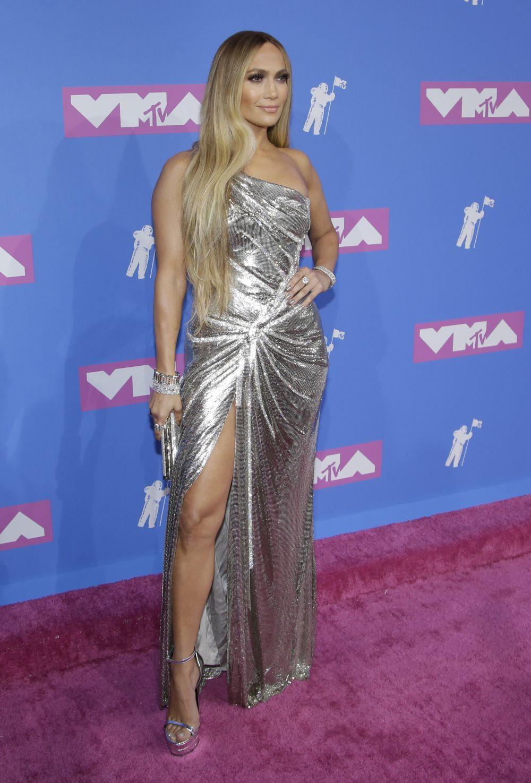 Jennifer Lopez en los MTV VMAs