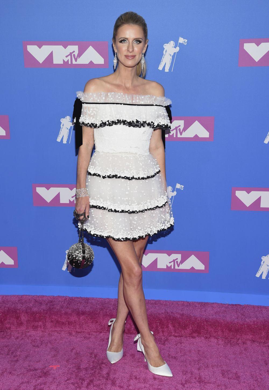 Nicky Hilton en los MTV VMAs