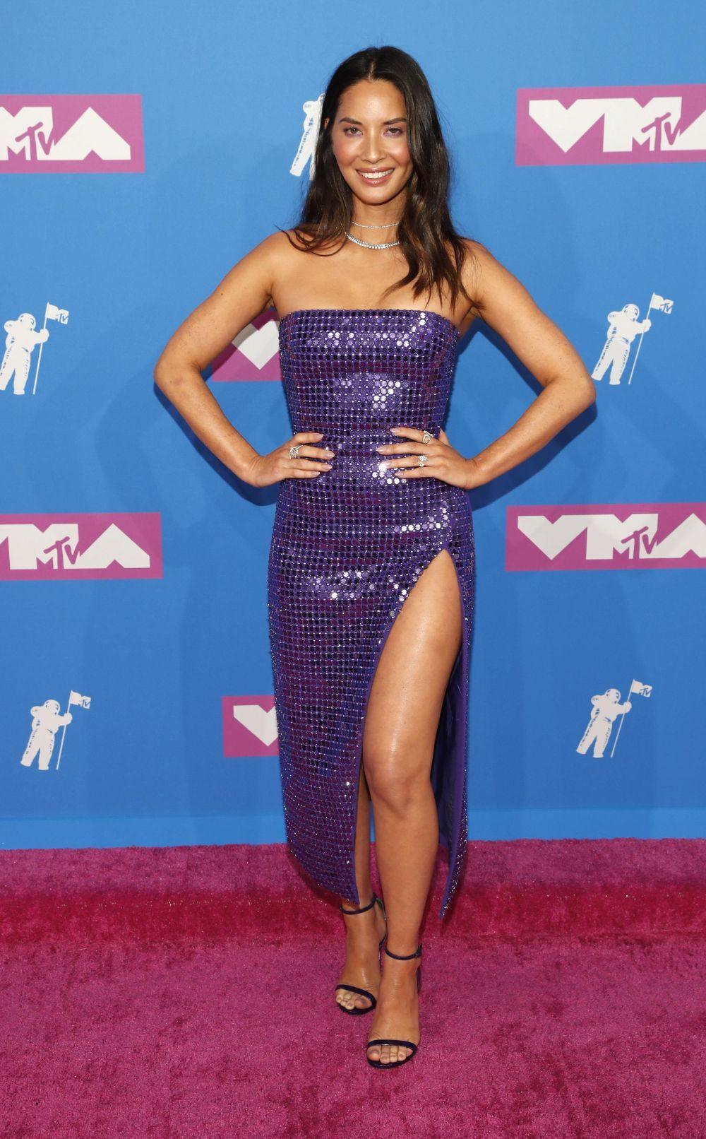 Olivia Munn en los VMAs 2018