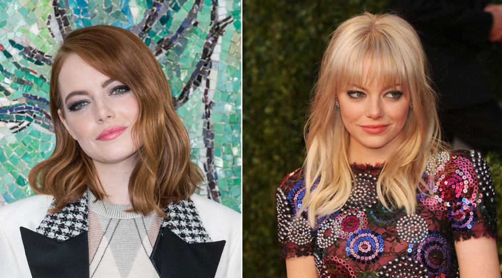 Aunque Emma Stone ha cambiado su color de pelo por exigencias del...