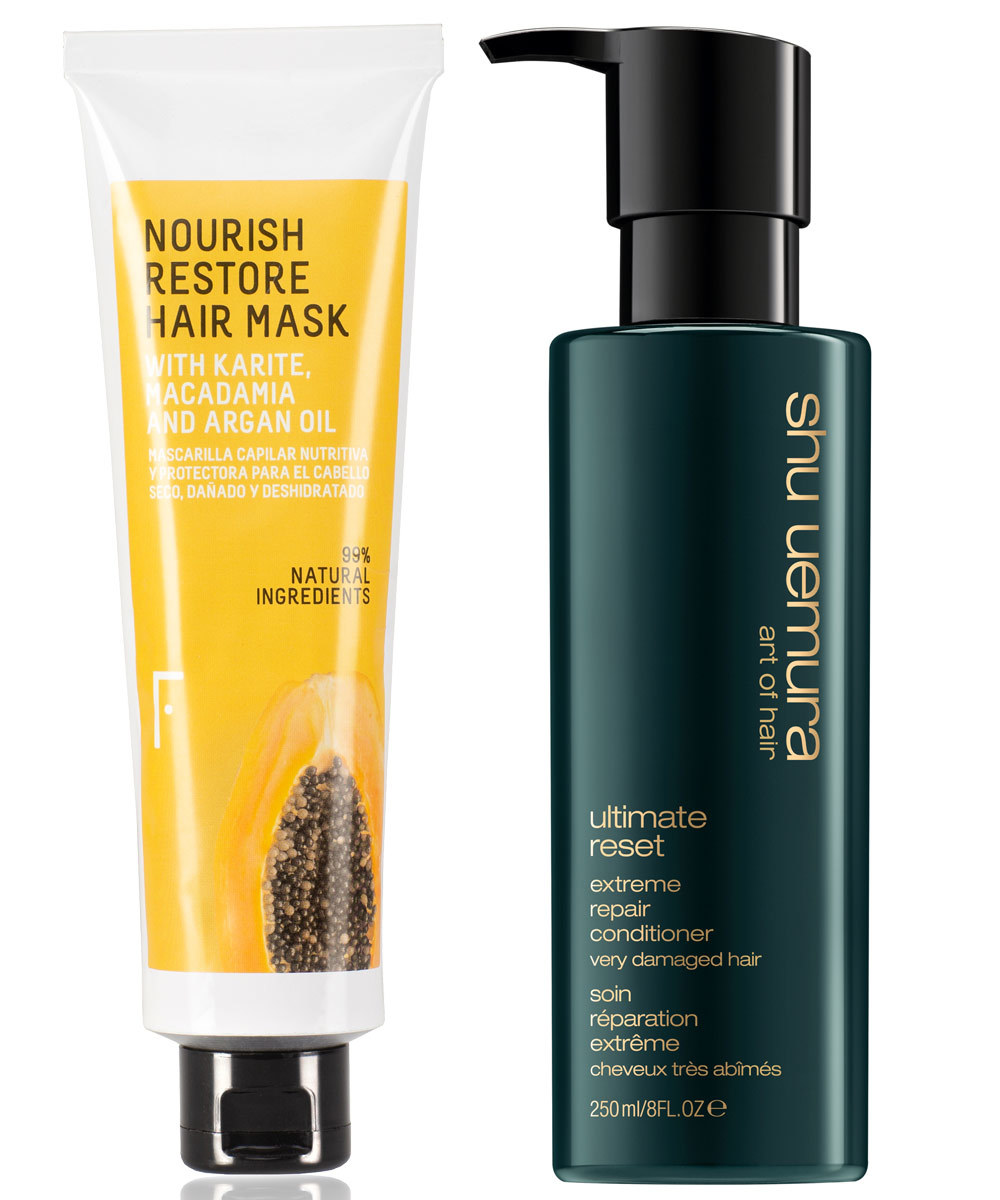 Nourish Restore Hair Mask, Freshly Cosmetics (18 euros);...