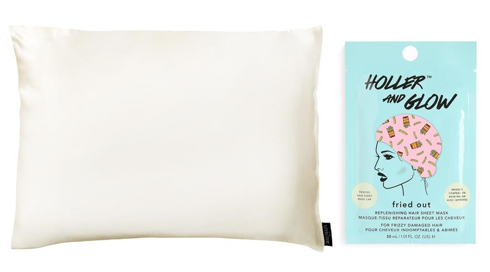 Almohada de seda capilar Silk Pillow Case, Balmain (C.P.V.);...