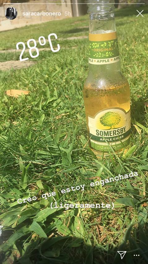 Sara Carbonero comparte a través de su Instagram su nueva bebida...