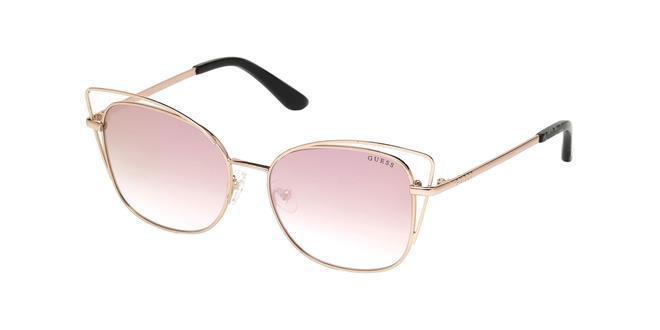 Gafas de sol cat eye con cristales de espejo, de Guess (56,80 euros).