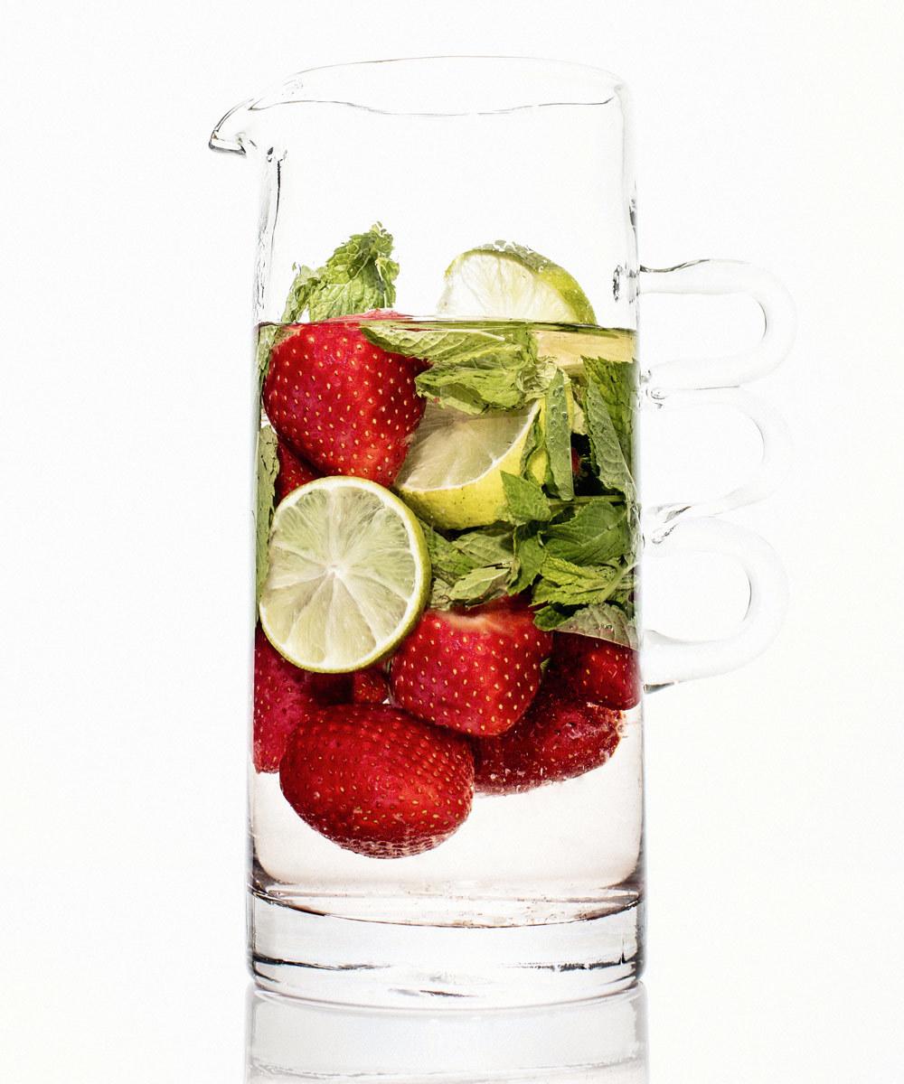 Las fresas se convierten en tu alimento aliado contra los poros tanto...