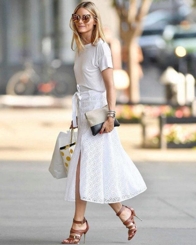 El total look blanco de Olivia Palermo promete ser la clave para...
