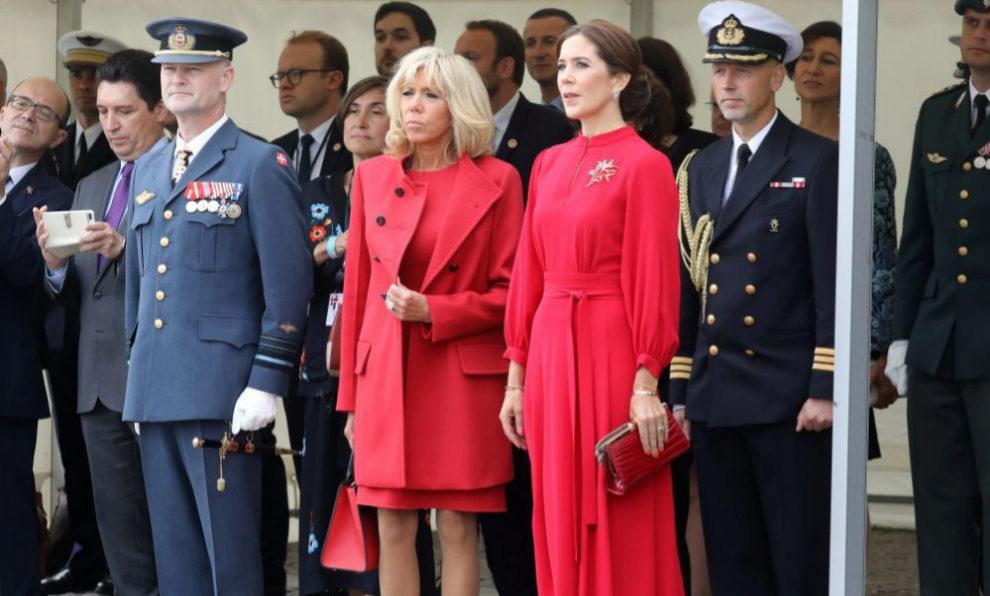 Mary de Dinamarca y Brigitte Macron