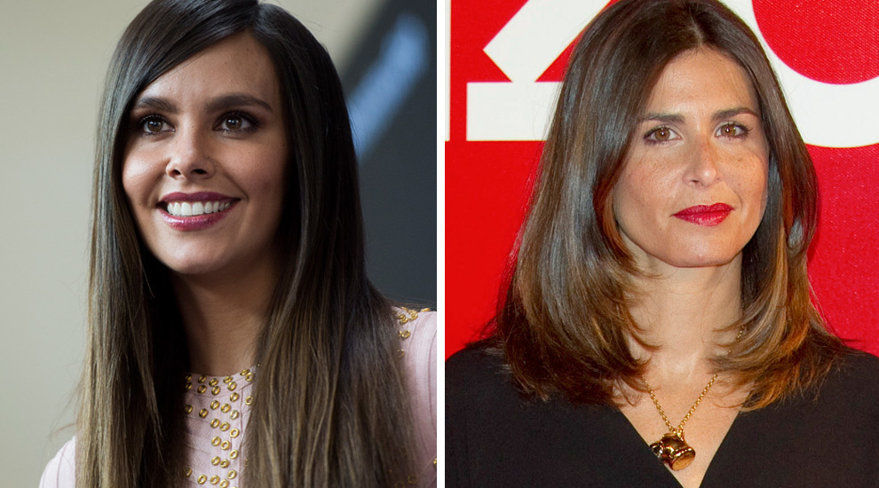 Cristina Pedroche y Nuria Roca.