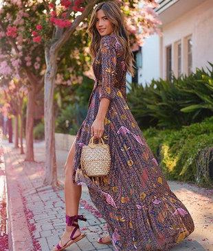 La instagramer demuestra que los vestidos largos son la perfecta...