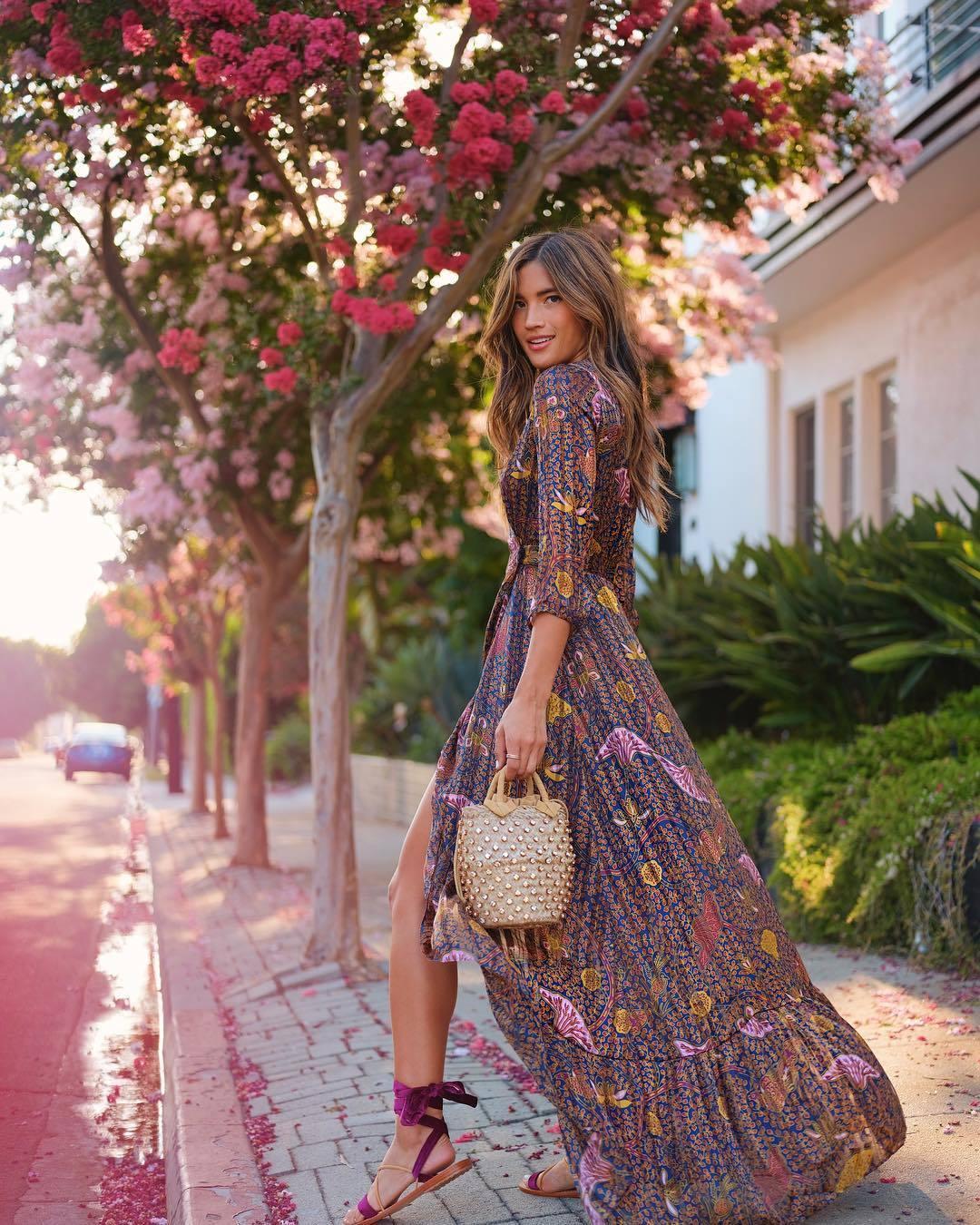 mitad de descuento mejor valor venta de tienda outlet El vestido largo es la prenda clave del otoño (palabra de ...