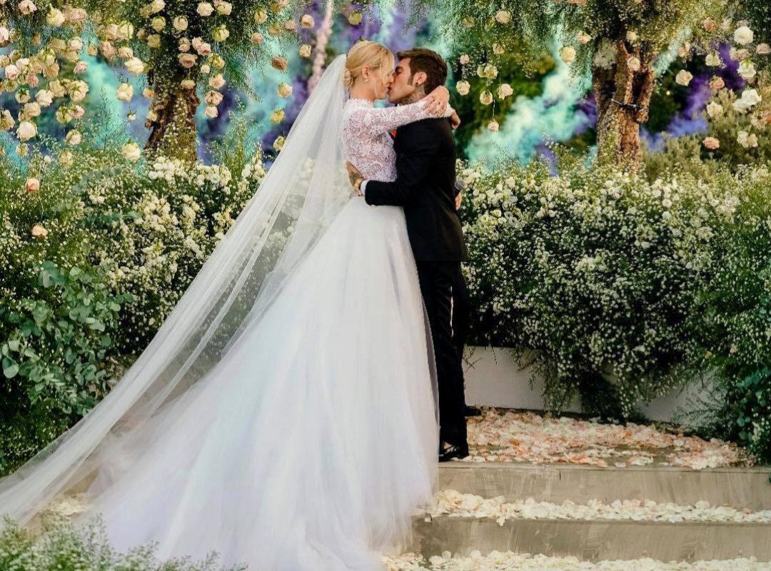aba8a2107 Así ha sido la boda de Chiara Ferragni y Fedez