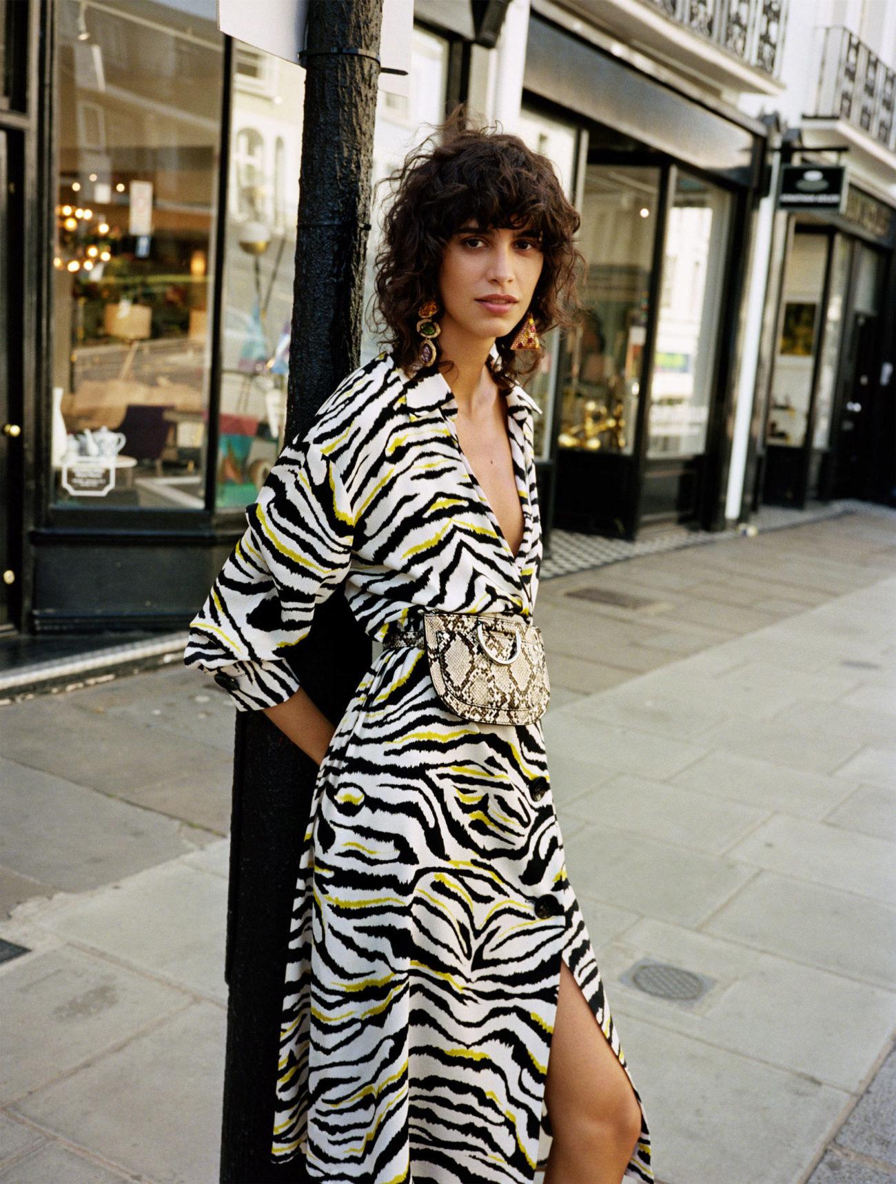 lista nueva ventas calientes reunirse Vestido estampado cebra   Zara nos da los trucos para vestir...