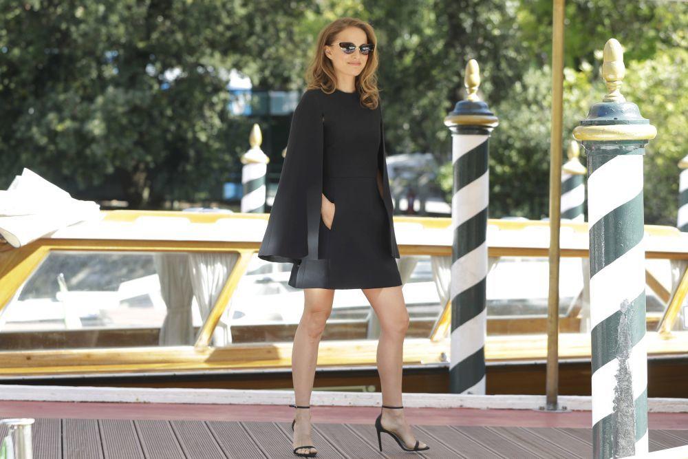Natalie Portman en el Festival de Venecia.