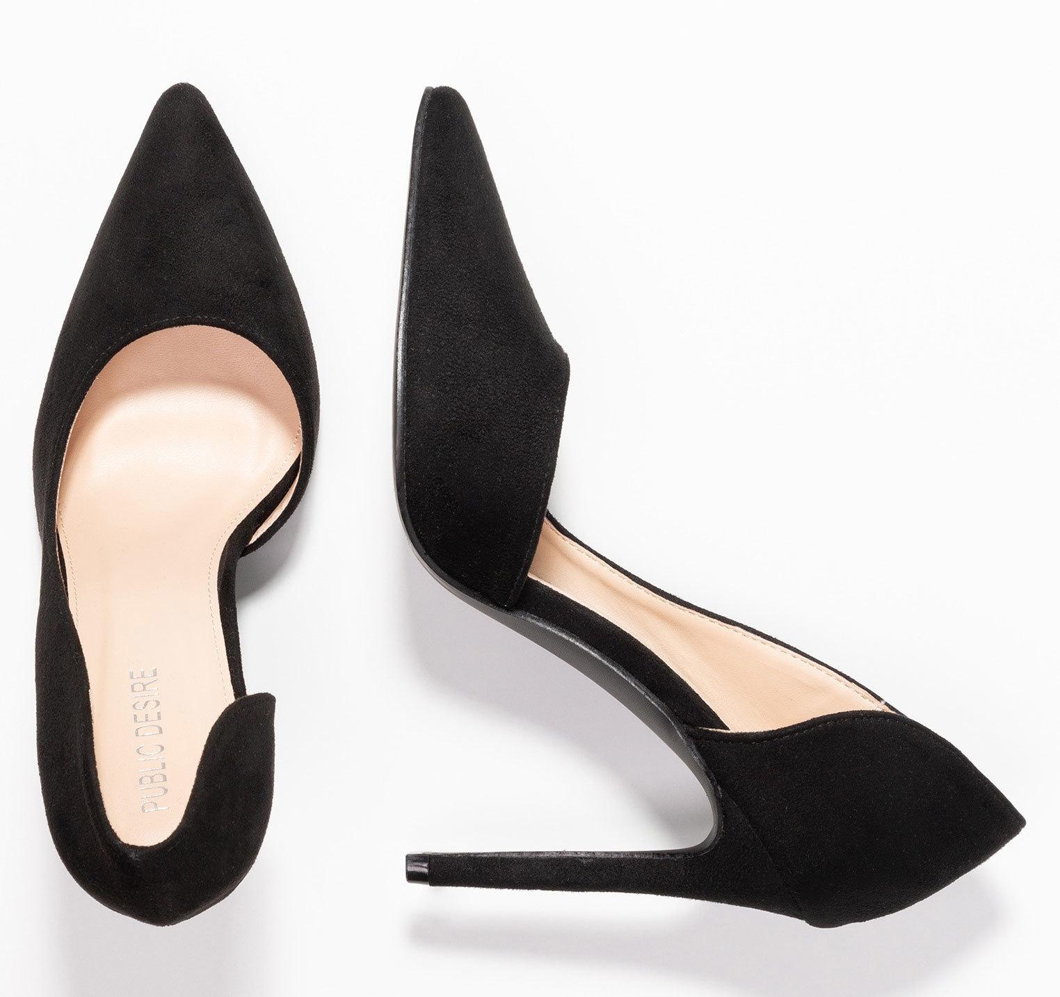 Stilettos negros, de Public Desire (29,95 euros).