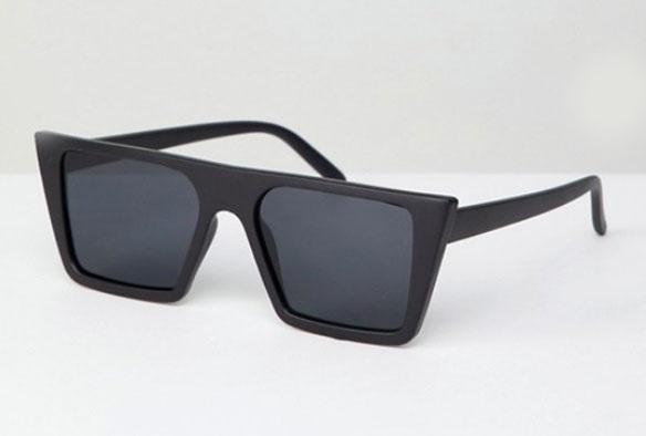 Gafas de sol cuadradas, de AJ Morgan (24,99 euros).