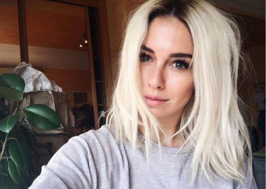Blanca Suárez con el pelo platino en su cuenta de instagram...