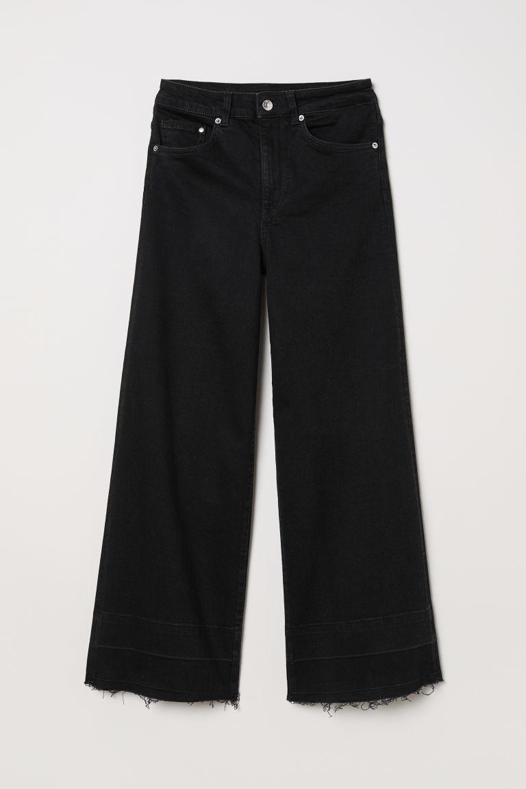Culotte negro de tiro alto, de H&M (24,95 euros).
