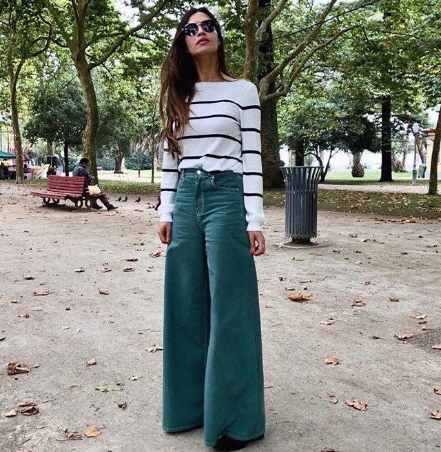 d31a20c41f Sara Carbonero (y Zara) avisan  vuelven los jeans de pata de ...