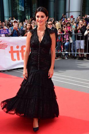 Penélope Cruz en la alfombra roja del Festival de Cine de Toronto
