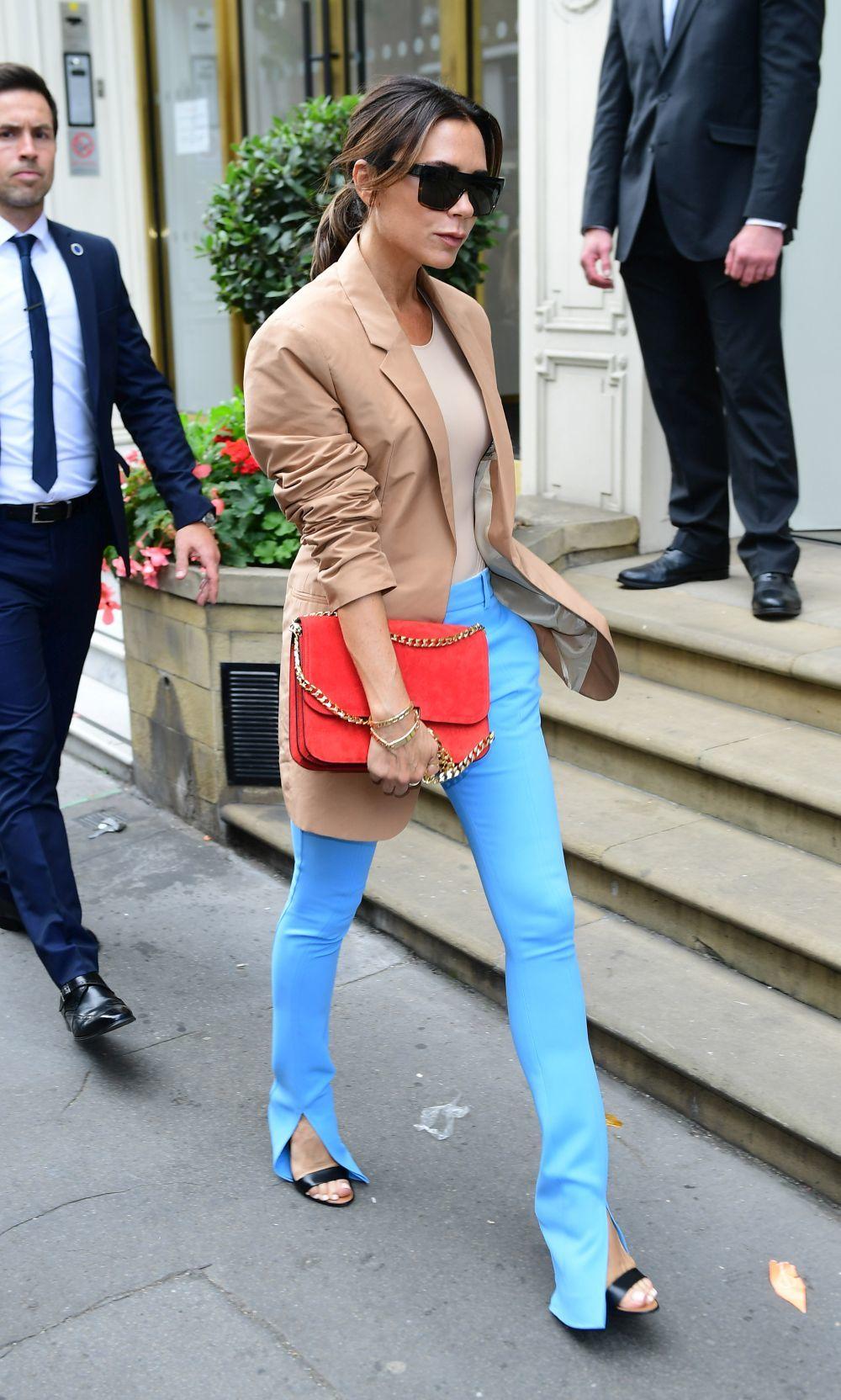 Victoria Beckham antes del desfile