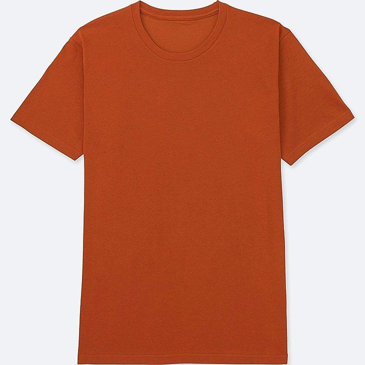 Camiseta básica naranja, de Uniqlo (5,90 euros).