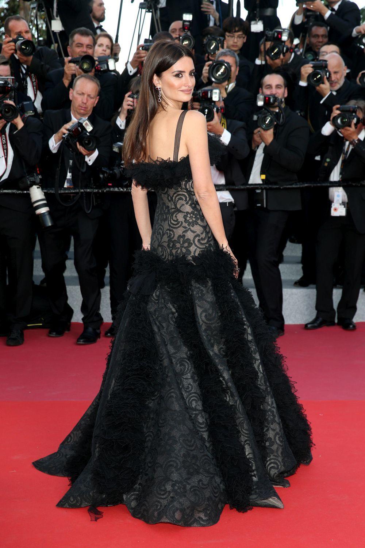 En 2018, en Cannes, con un Chanel vintage.