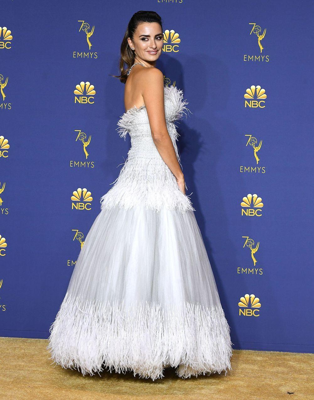Penélope en los Emmy 2018.