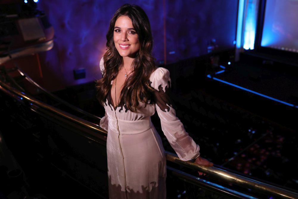 La actriz Adriana Ugarte durante la inauguración del Lychee Film...