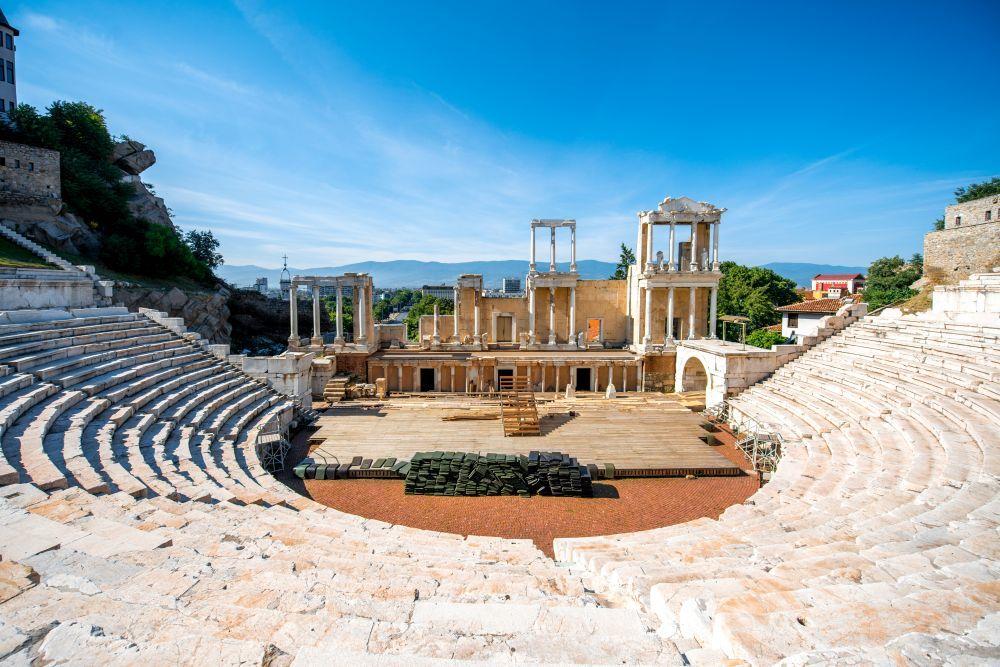 Teatro romano de Ploviv.