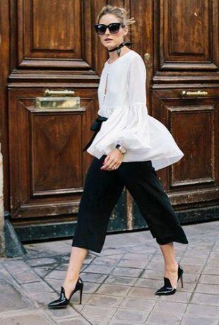 Olivia Palermo paseando por las calles de Nueva York
