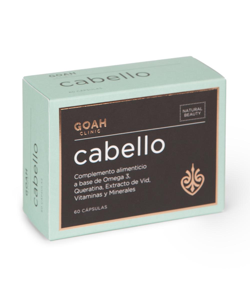 Complemento alimenticio con Omega 3, queratina, vitaminas y minerales,...